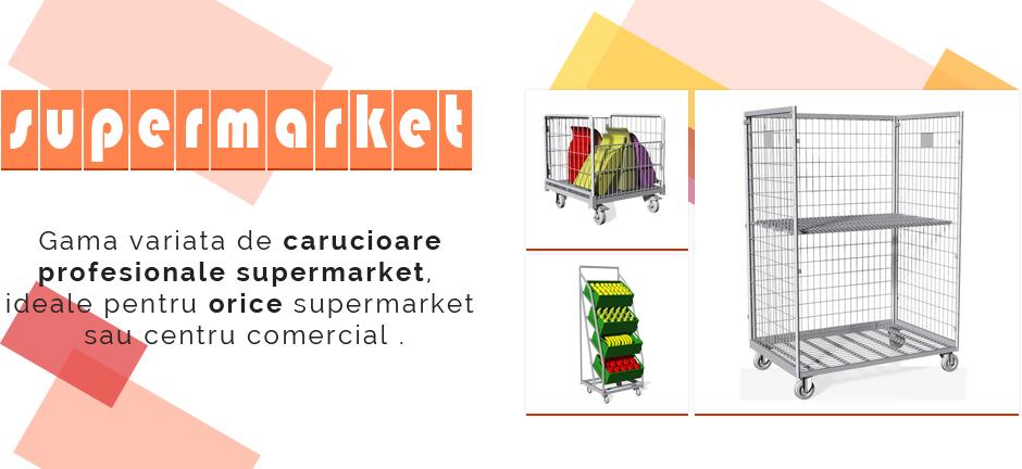 Carucioare supermarket